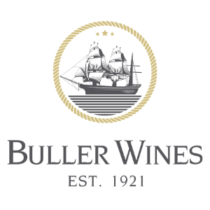 Buller Wines Logo 300x300 white b:ground